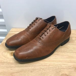 Cole Haan Grand OS Montgomery Tan Oxford C20240